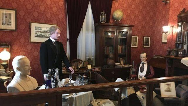 英国館 シャーロック・ホームズの部屋