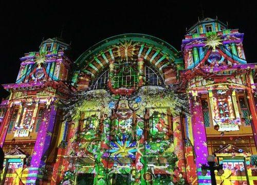 OSAKA光のルネサンス 2018ウォールタペストリー