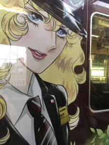 阪急ラッピング列車 べryバラ風