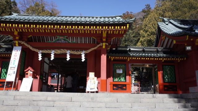 写真:光二荒山神社中宮祠