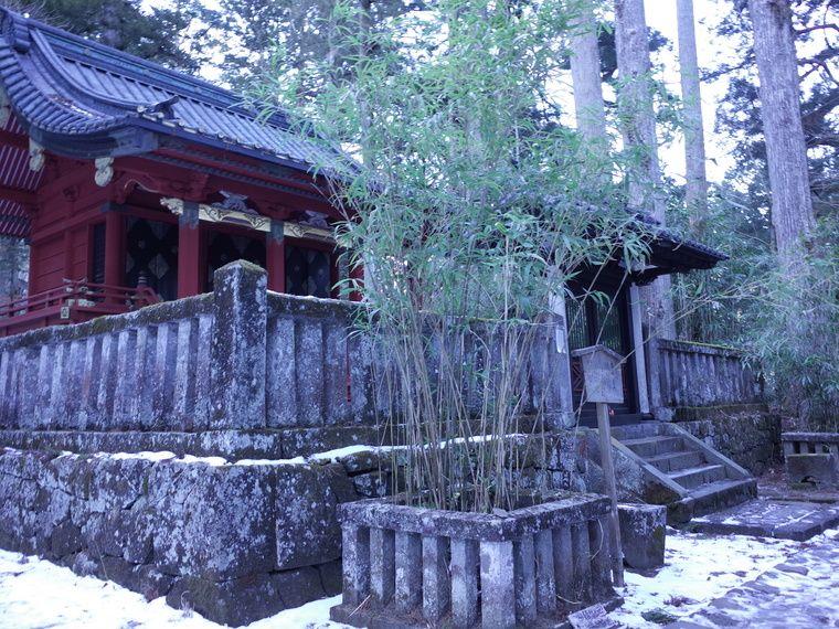 滝尾神社 縁結びの笹