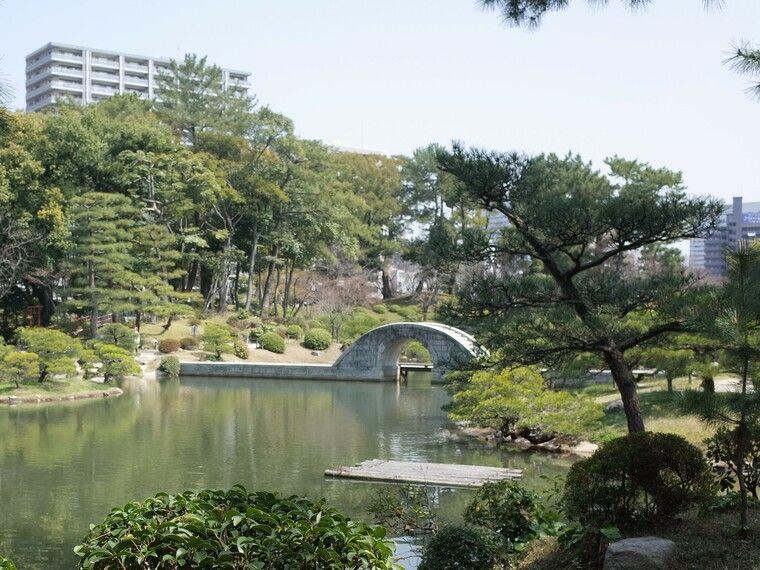 縮景園 虹跨橋