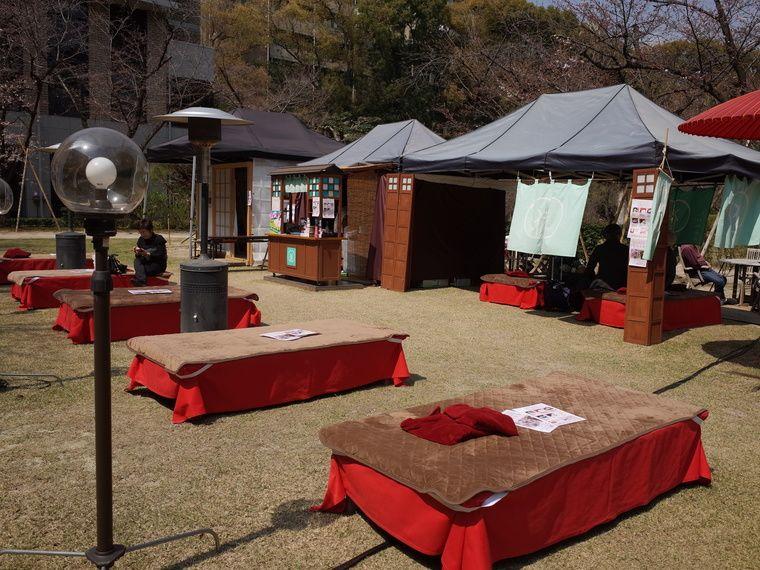 にわかふぇ:江戸時代の茶店のイメージの和風カフェ