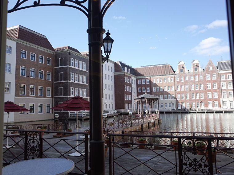 ホテルヨーロッパのアンカーズラウンジ テラスからの景色